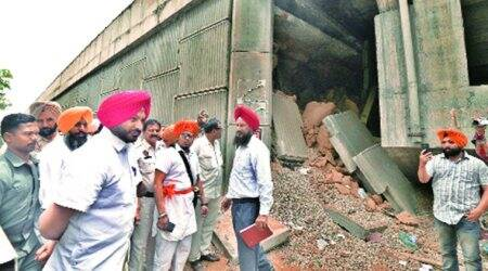 Ludhiana flyover collapse: Municipal Corporation blames 'rats' from garbage dump, experts flag poor construction