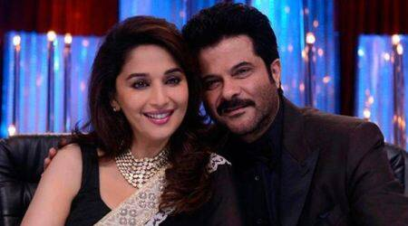 Madhuri Dixit: I'm excited to work with Anil Kapoor and Sanjay Dutt again
