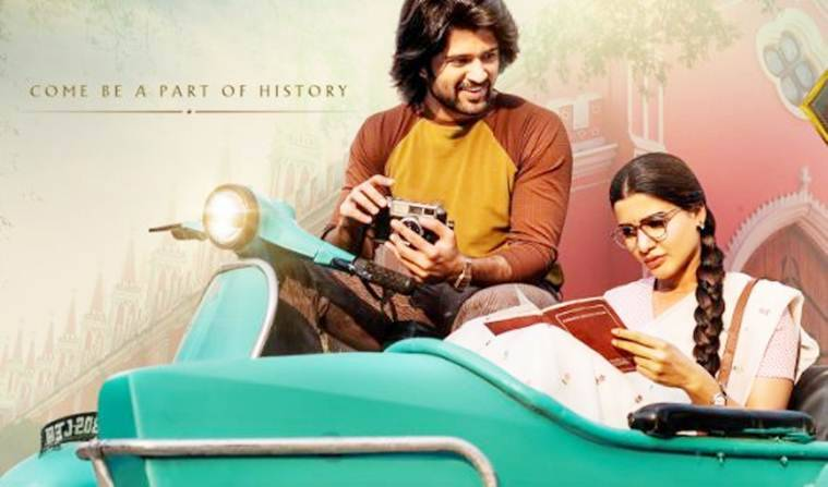 Samantha Ruth Prabhu and Vjiay Devarakonda in Mahanati