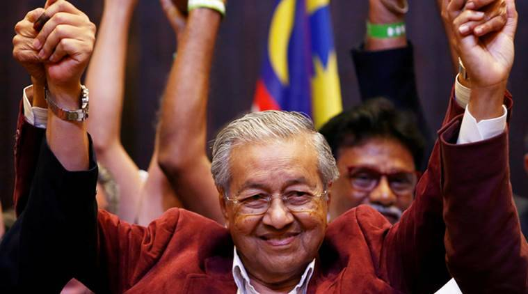 Malaysia seeks multiple charges against ex-premier Najib Rajak over 1MDB case: PM Mahathir Mohamed