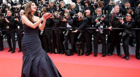 Cannes 2018: Mahira Khan stuns in an elaborate black gown at her red carpet debut; seepics