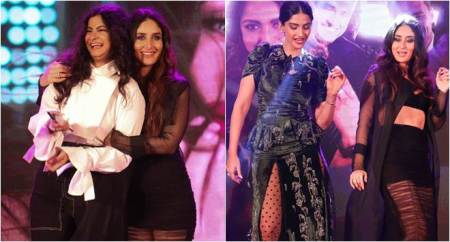 Veere Di Wedding audio launch: Kareena Kapoor and Sonam Kapoor flaunt their 'Tareefan' moves