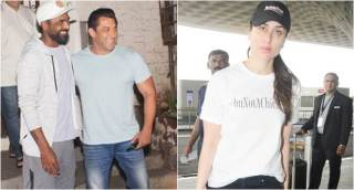 Celeb spotting: Salman Khan, Kareena Kapoor Khan, Janhvi Kapoor, Aryan Khan and others