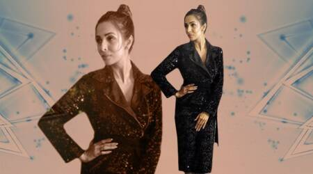 Malaika Arora's shimmery black dress is absolute party-wear fashion goals