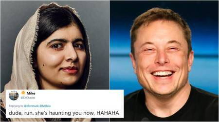 Malala Yousafzai and Elon Musk had the cutest Twitter chat and fans cant have enough of it