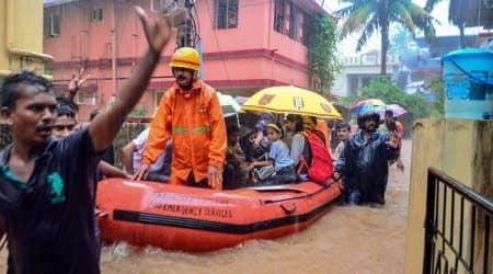 In Pics: Heavy rain inundates Mangaluru, schools remain closedtoday