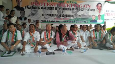 Manipur: Congress to petition Centre to protect state's integrity, withdraw Citizenship Bill