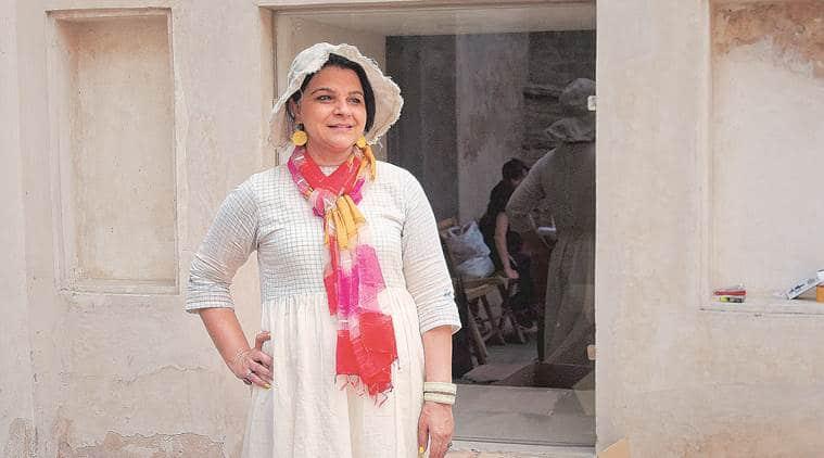 Manisha Gera Baswani, artist, Indian express talk