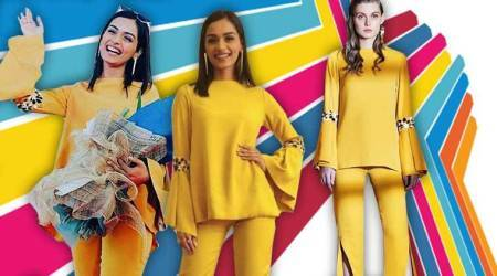 Manushi Chhillar goes retro chic in the trendiest colour of the year