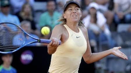 Maria Sharapova edges Jelena Ostapenko, to play Simona Halep in Rome semis