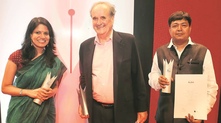Red Ink Awards function in Mumbai   Fake news must be rooted out: Mark Tully mark tully 759