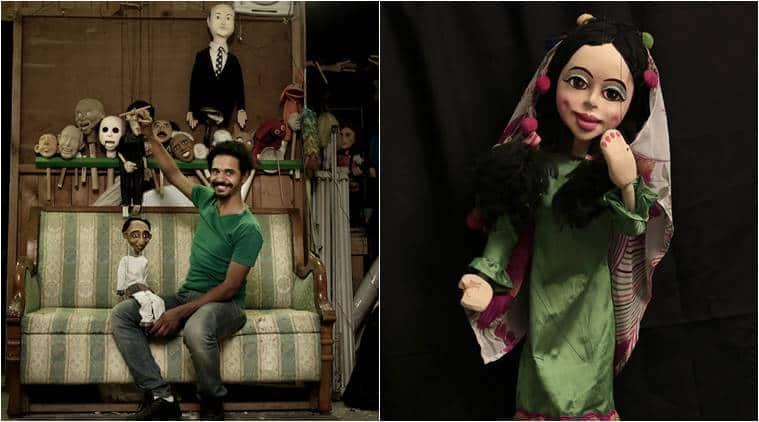 marionette maker Cairo, marionette maker Egypt, puppet show Egypt, puppet show, indian express, indian express news