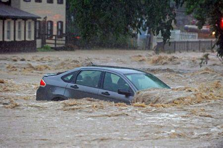 In pictures : Historic US city damaged after flash floodshit