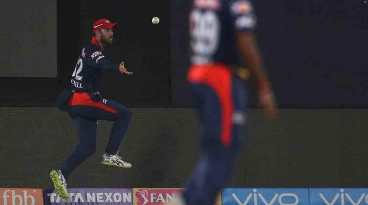 IPL 2018, DD vs MI: Glenn Maxwell, Trent Boult combine to pull off two sensational relay catches; watch video