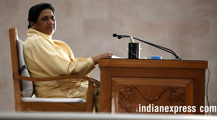At a meeting with party leaders from across the country held in Delhi, Mayawati said the BSP's alliance with the INLD in Haryana, and its growing base, had left the BJP worried.