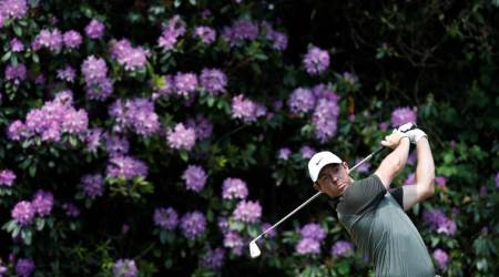 Rory McIlroy, Francesco Molinari tied for lead at PGA Championship