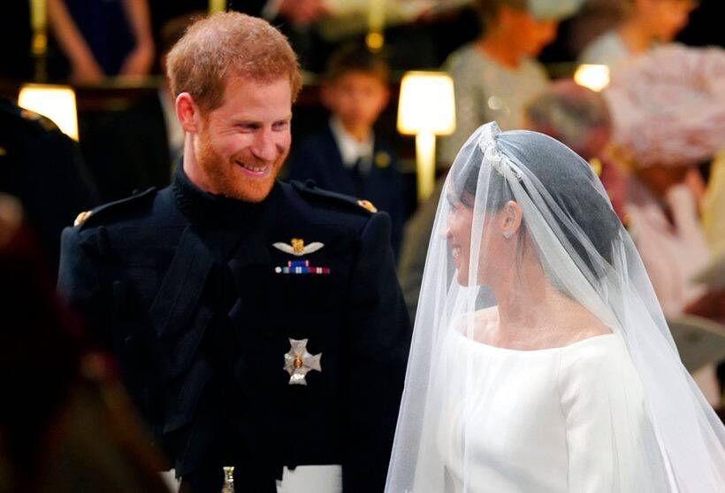Prince harry and meghan markle got married