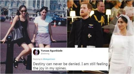 Royal Wedding 2018: Meghan Markle's throwback photo outside Buckingham Palace is proof fairytales still exist