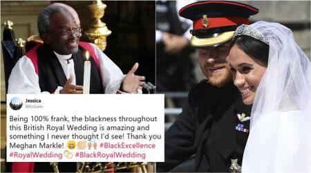 As Meghan Markle and Prince Harry tied knot, here's why #BlackRoyalWedding was trending