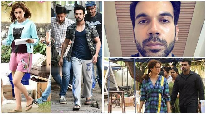 Mental Hai Kya: Rajkummar Rao, Kangana Ranaut spotted on the sets of the film