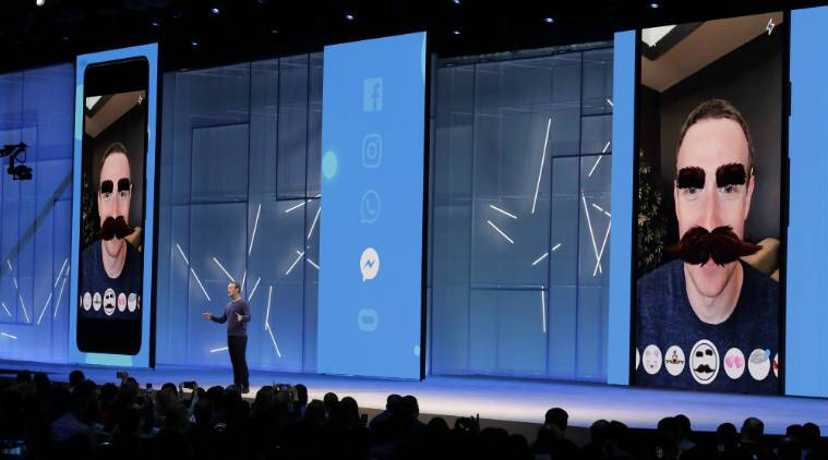 Facebook F8 Developer Conference, Facebook Messenger AR tools, augmented reality platforms, Zuckerberg Messenger AR, Facebook Messenger advertising, Pokemon Go, virtual chatbots