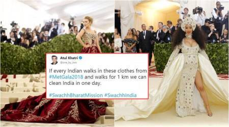 In addition to Priyanka Chopra's dress, here are other Met Gala 2018 outfits that inspired HILARIOUSmemes