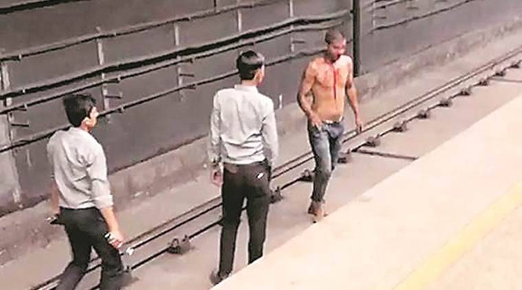Man Enters Delhi S Saket Metro Tunnel Emerges At Malviya