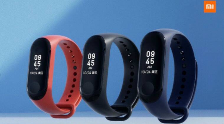 Xiaomi Mi Band 3 With 0 78 Inch Oled Display Water