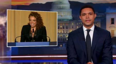 VIDEO: Trevor Noah and Seth Meyers back comedian Michelle Wolf for criticism on her Donald Trumpjokes