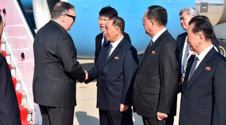 Mike Pompeo, North Korea vice chairman Kim Yong Chol hold talks in US