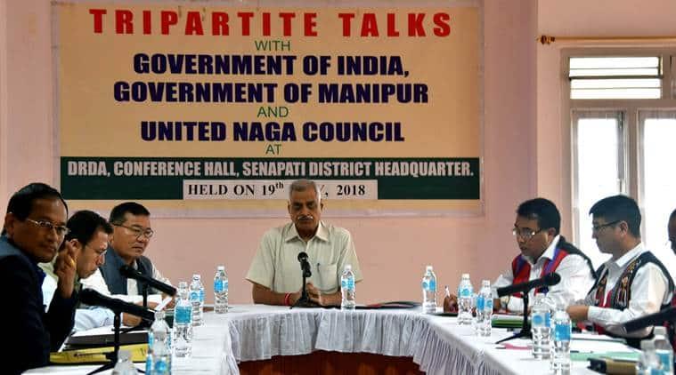Tripartite talks on district creation of Manipur
