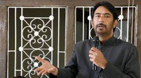 ghulam ahmed mir, jkpcc chief statement, kashmir congress leader, situation in Valley all time worst since 1947, j&k congress, shopian school bus attack, indian express