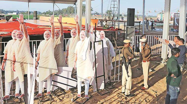BJP's Campaign 2019: Modi as vehicle, Modi in driver's seat