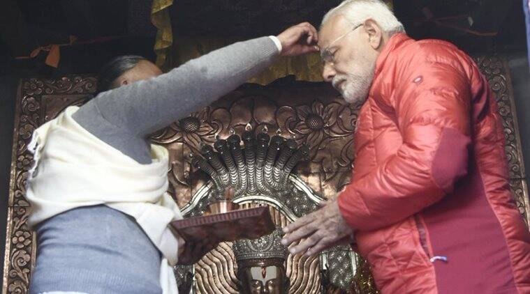 Modi in Nepal: PM visits Muktinath temple, becomes first world leader to offer prayers