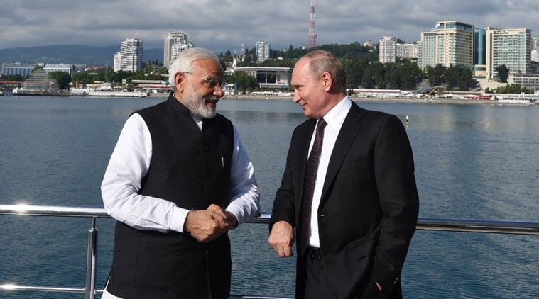 Counter-US strategy in mind, Vladimir Putin talks defence ties with India