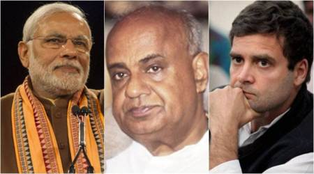 Karnataka exit polls: BJP single largest party in hung house, JD(S) may be kingmaker