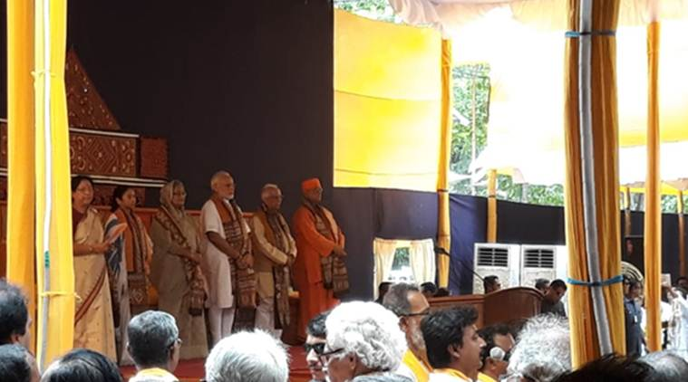Visva Bharati University convocation LIVE: PM Modi, Sheikh Hasina arrive, students chant 'Modi, Modi'