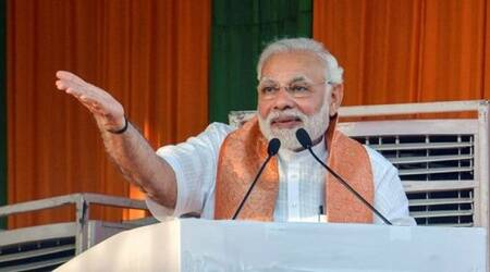 Modi in Shahjahanpur: Opposition running after PM's chair, ignoring poor, youth andfarmers