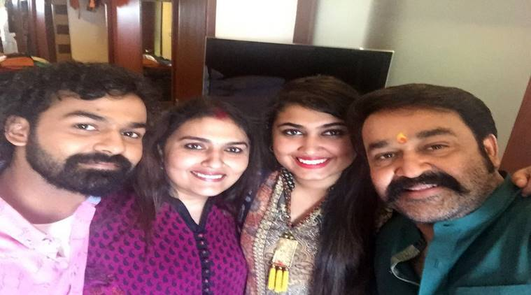 Video: Mohanlal sings for his wife on their 30th wedding anniversary