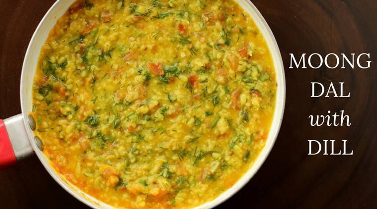 Moong dal, dill leaves, dal, tomatoes, comfort food, easy indian dish, Moong dal with dill leaves, ASHIMA GOYAL SIRAJ express recipes, express recipes, indian express, indian express trending
