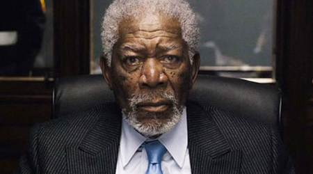 Morgan Freeman returns to work, celebrates birthday with The Poison Rose co-stars