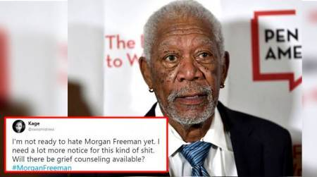 Netizens shocked over sexual harassment charge against actor MorganFreeman