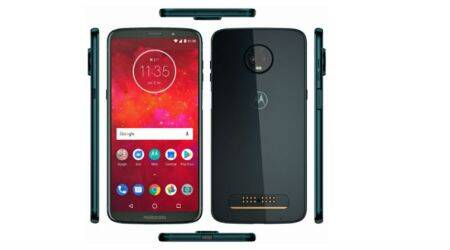 Moto Z3 Play Deep Indigo leaked online, reveals side-mounted fingerprint sensor
