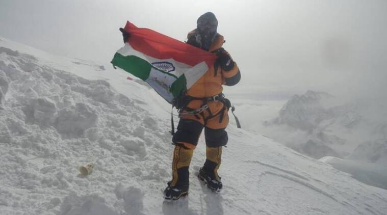 Muri Linggi scales mount everest