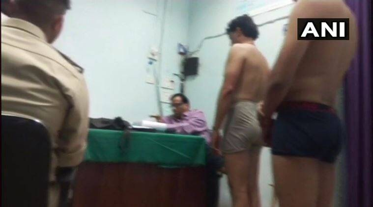 Men Stripped to Undergarments & Women Measured by Male Officers at Bhind
