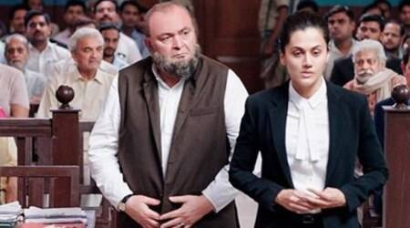 Mulk first look: Taapsee Pannu returns to the courtroom, this time with Rishi Kapoor