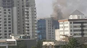 Mumbai: Fire breaks out at Technic Plus One building in Goregaon, rescue operationunderway