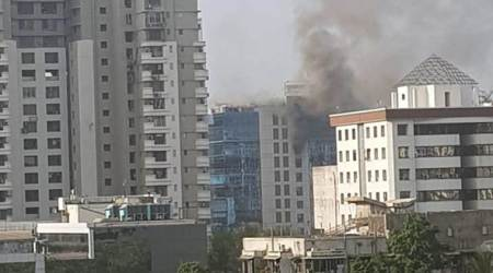 Mumbai: Four dead, nine injured as fire breaks out at Technic Plus One building inGoregaon