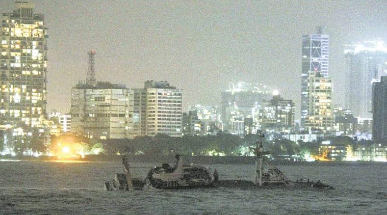 Mumbai: Floatel capsizes near Bandra-Worli Sea Link, cops rescue 15 onboard