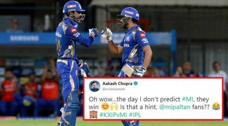 IPL 2018: Mumbai Indians wins over Kings XI Punjab; fans celebrate Rohit Sharma's 300 sixes